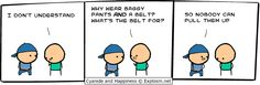 Cyanide and Happiness - Belt