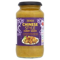 #Tesco chinese style curry sauce. A sweet and fruity chinese style curry sauce with aromatic spices.