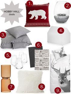 Kaikki Mitä Halusin -bloggari Karla valikoi oheiset tuotteet Hobby Hallin joulu 2013 -valikoimasta