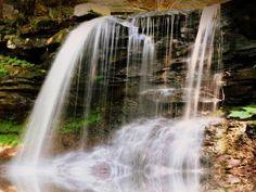 Ganoga Waterfall in Pennsylvania by Mitch