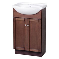 "Foremost CO Columbia 22"" Bath Vanity with Vitreous China Vanity Top - Vanity Top Included"