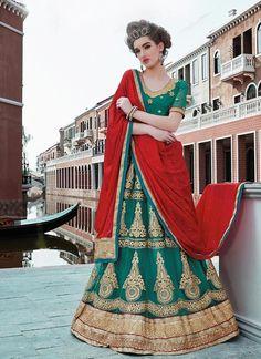 Lehenga Ethnic wear Bollywood Pakistani Traditional Indian Bridal Choli Wedding #TanishiFashion