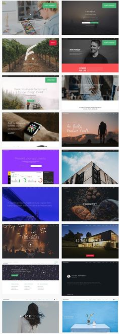 Foundry is a flat and responsive #WordPress Theme with a clean and professional design offering the ideal solution for business, portfolio, blog and marketing pages. Foundry is a style powerhouse perfect for your brand. Built on the #responsive Twitter #Bootstrap v3 framework with authentically crafted 20+ layouts.