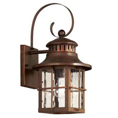 Portfolio Antique Verde Outdoor Wall Light.  Holy crap.  I found a light that is only 40 bucks?!
