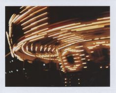 Untitled No. 15 - Polaroid camera with instant film. #photography #carousel