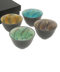 This Kaleidoscope Bowl - Set of Four is perfect! #zulilyfinds