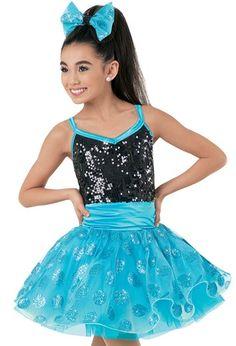 Weissman™   Ultra Sparkle Glitter Dot Tulle Dress