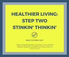healthier living step two with BacktoFamily.net