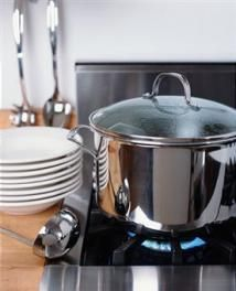 All About Mirrors in Feng Shui: A Mirror Behind the Stove