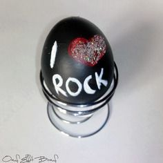 Oeuf messager love rock