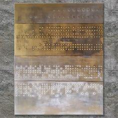 """SERIAL"" Acrylbild, abstrakt (L180205)"