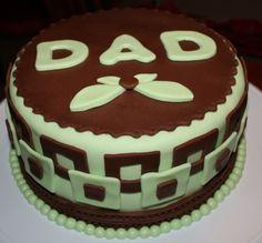 Simple men's cake