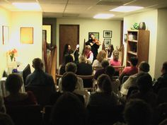 Lisa Lynn & Aryeh Frankfurter and Celtic Muse playing together to a packed clinic! Wellness Clinic, Health And Wellness, Celtic, Muse, Health Fitness