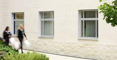 Glazing bars in light grey