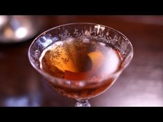 The Fourth Regiment Cocktail dates back to the late century. Like many cocktails of the day, it was most likely made with rye whiskey rather than bourbo. Rye Cocktails, Cocktails To Try, Non Alcoholic Drinks, Beverages, Rye Whiskey, Savoury Dishes, Sweets Recipes, Good Food, Brunch