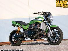 2005 Kawasaki Zrx 1200 Cafe Racer Z1000 Motorcycles Moto Bike