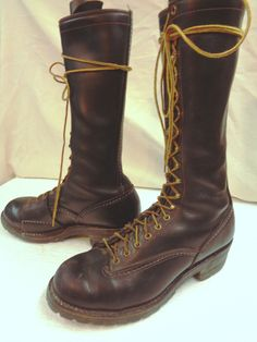 Boots are in pretty good shape but have some scuffing. A real bargain price  for ba4e9ad98cc