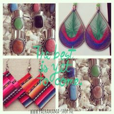 Soon online!! New earrings and rings from Peru!!  www.pachamama-shop.nl