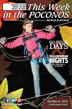 October 8, 2016 Cover: Hallowscream Nights at Pocono Treeventures