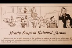 11 Awesome Pages from World War II Ration Cookbooks for more WWII interests…