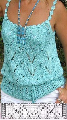 Fabulous Crochet a Little Black Crochet Dress Ideas. Georgeous Crochet a Little Black Crochet Dress Ideas. Black Crochet Dress, Crochet Blouse, Crochet Bikini, Débardeurs Au Crochet, Pull Crochet, Crochet Tops, Lace Knitting, Knitting Stitches, Knitting Needles