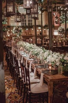 Dallas Wedding with Glam Indoor Garden Style - MODwedding