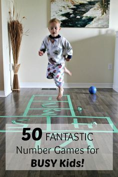 These 50 awesome number learning games are great for my busy boys! Love that I can do them right now.