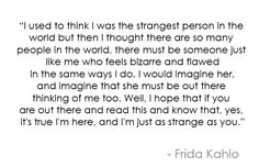 Frida Kahlo quotes. CLick to see more.