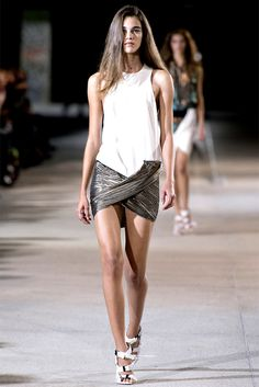 Anthony Vaccarello - Spring/Summer 2013