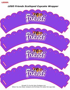 LEGO Friends Scalloped Cupcake Wrapper | Scribd