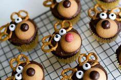 ✯ Reindeer Cupcakes