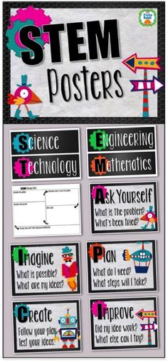STEM Posters and Planning Sheet