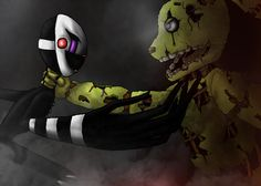 The Killer vs The first Killed by HollowMage.deviantart.com on @DeviantArt