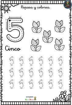 Colección de fichas de grafomotricidad números - Imagenes Educativas Math Worksheets, Preschool Activities, Zeina, Kids And Parenting, Homeschool, Classroom, Gaucho, Kids Learning Activities, Literacy Activities
