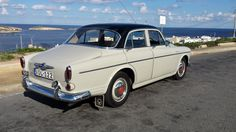 1961 Volvo 122s. Built December 1960.  Registered January 1961.