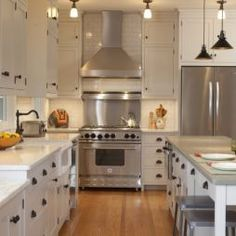 Lights Vent Hood And Simplistic Style Love It White Kitchen Cabinets