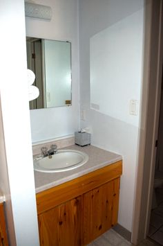 Bathroom sink in a Cottage