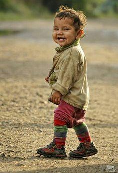 Natali Zilberfain, smiling young boy.