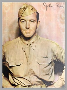 John Payne (May 23, 1912 – December 6, 1989), Born in Roanoke, VA. Served in US Army Air Corps during WW II. Actor best known for film noir crime films and musicals, and for his leading roles in Miracle on 34th Street and television series The Restless Gun.