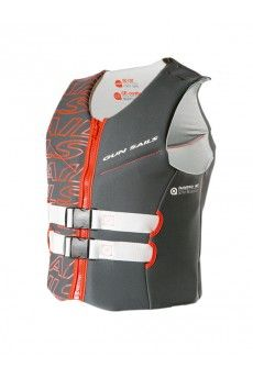 FLOATER VEST 1.0 MM The Floater Vest is a pure buoyancy aid (no life jacket) with 50N buoyancy and has official CE conformity