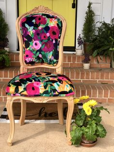 Custom Dining Chairs - Shop All Chairs on Chair Whimsy Dinning Chairs, Dining Room, Interior Design Boards, French Chairs, Chair Makeover, Antique Chairs, Chairs For Sale, Chair Fabric, Spring Green