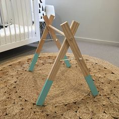 New baby play gym Handmade 60cm High x 60cm wide Just need to add your own accessories/toys Folds down / comes apart for easy storage.
