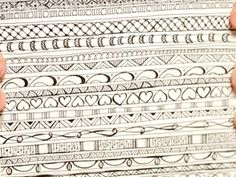 drawing & doodle how to:  add pattern and interest to simple drawing; lots of drawing videos.BE SURE TO click on the link inside this pin.  Amazing things that anyone can draw.