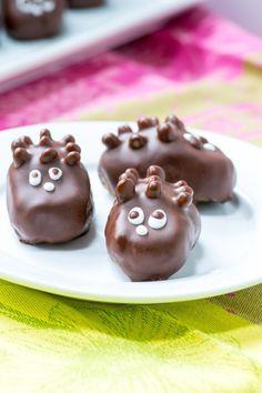 Healthy Hedgehog Candies