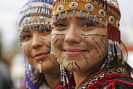 Photo of Native performers with traditional Alutiiq headdresses and facial tattoos at the Alaska State Fair in Palmer. Summer in Southcentral Alaska Heritage Center, My Heritage, Alaskan Native Tribes, Palmer Alaska, North To Alaska, Alaska Usa, Facial Tattoos, Living In Alaska, Anchorage Alaska