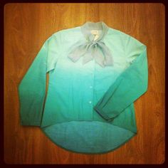 GREEN GRADITION TOP by @cyru_indonesia available at our store