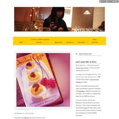 Amy Cao is using Style Hatch Premium Tumblr theme Atlantic Noir