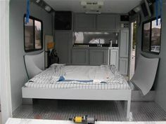 Image result for Enclosed Cargo Trailer Camper Conversion