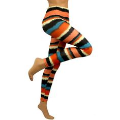 Modern Art Multi Color Leggings Stretch Tights « Clothing Impulse