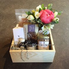 A special thank you.  #bybrokenarrow #eastvan #gifter #yvr #vancouver #local #supportlocal #flowers #giftbox #giftboxes